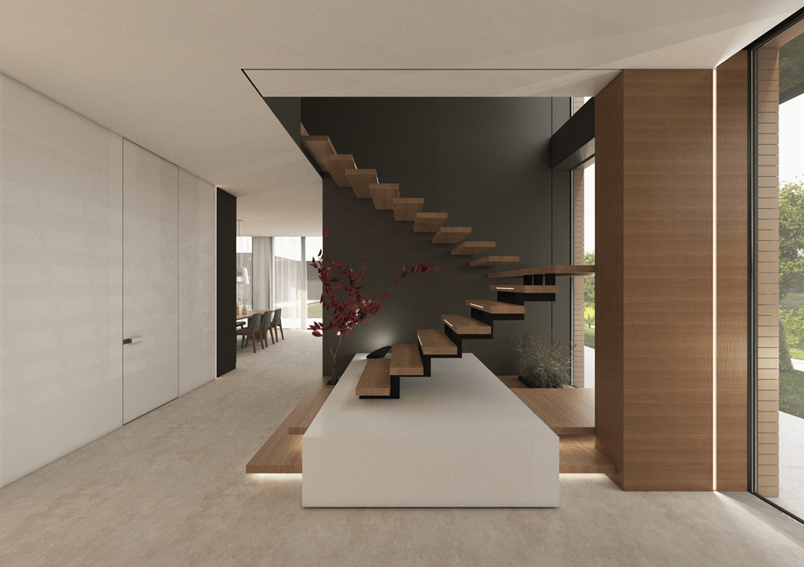 Cat's house - stairways